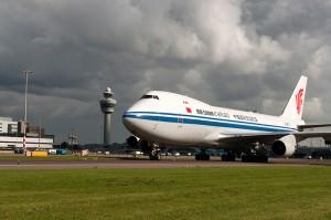 China Air begins 747 airfreight