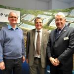 Peter Surtees, European Supply Chain Director Kimberley-Clark, Peter Acton -Logistics Leaders Network and Peter Ward - London Gateway