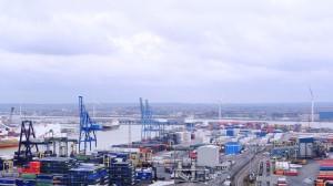 Port of Tilbury 4 turbines complete