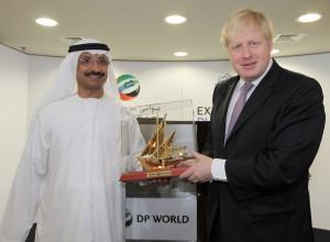 Boris Johnson visits DP World