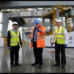 Mayor of London visit to DP World London Gateway