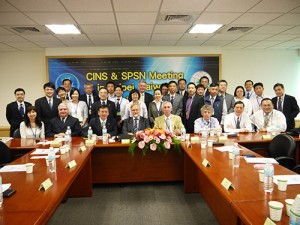 CINS Committee meeting recently hosted in Taipei by Evergreen Line - a founding member of CINS