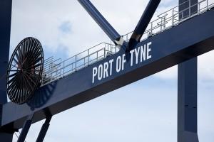 Port of Tyne's new £6m Gantry Crane