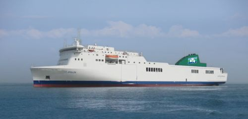 Irish Ferries - Epsilon - Dublin to Holyhead