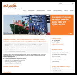 Actualis home page