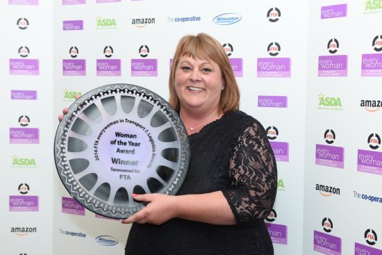 FTA everywoman Women in Transport & Logistics Awards 2016.