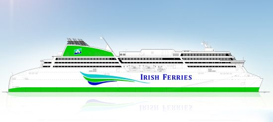 Irish Continental Group plc invests €144 million to build a new cruise ferry