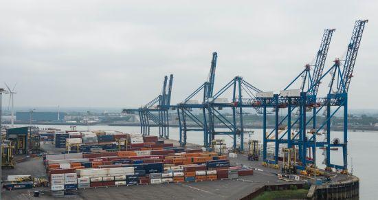 Ultra Trust at Port of Tilbury Grain Terminal.
