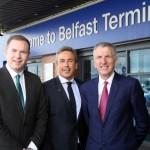 Hazzard and Ó Muilleoir tour Stena Line port operations:
