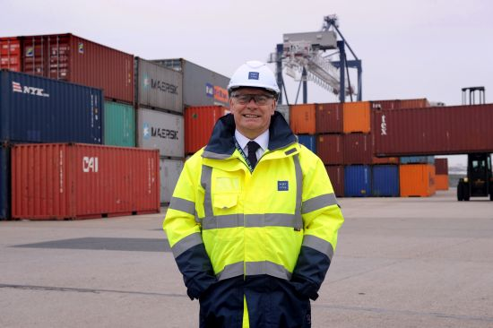 Port of Tyne director Tim Ingram.
