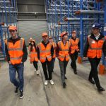 Taken 15th July 2016 Group of students across from Stockton Riverside College were at the Logistics Academy having a tour of PD Ports in Billingham.   Byline:  Dave Charnley Photography   Mobile:  07753 559235